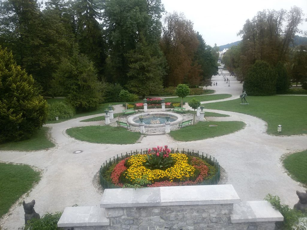 Lubiana Parco di Tivoli
