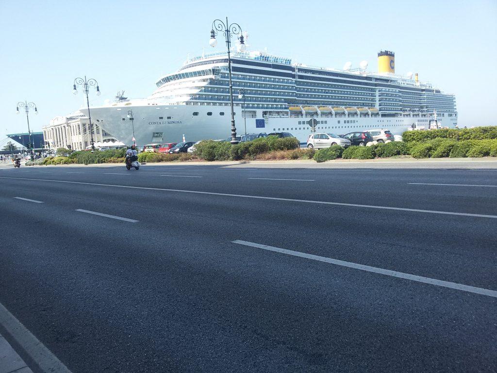 Trieste -porto crociera