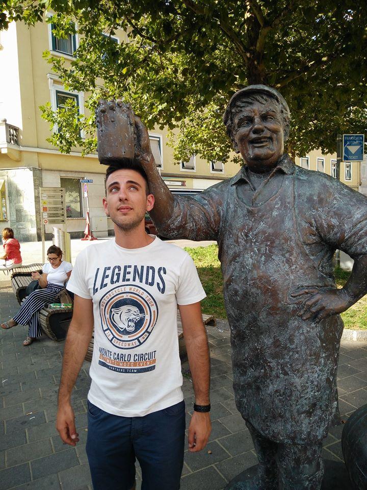 Villacher birrificio statua 2