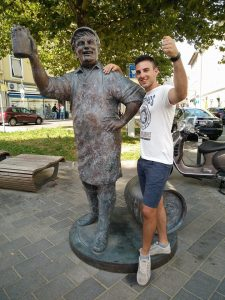 Villacher birrificio statua