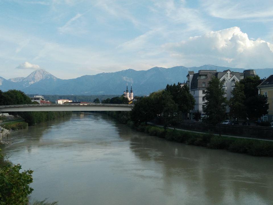 Villach fiume Drava